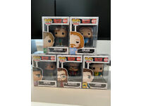 Silicon Valley Collection Funko Pops Includes protectors