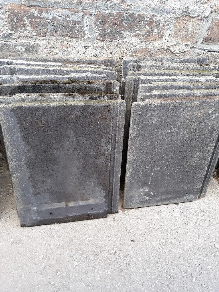 Marley Roof Tiles Black 33cm X 42 Cm In Southside