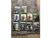 Xbox 360 Games - 10 Games (Call of Duty, Halo etc).