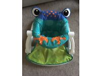 Fisher price sit me up frog