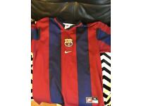 Classic Barca shirt XL BOYS ( small men's )