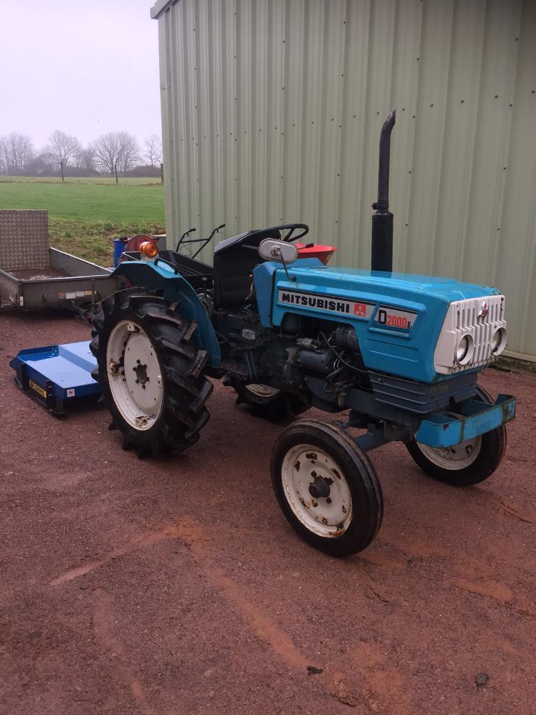 Mitsubishi Compact Tractors : Mitsubishi d ii compact tractor in monmouth