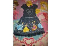 Girls Disney Princess dress age 3-4