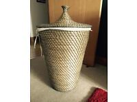 Laundry Basket Seagrass Design