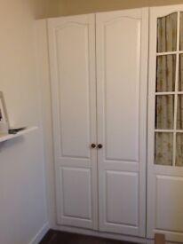 Wardobes (3 x Double door and 1 x Single door available)