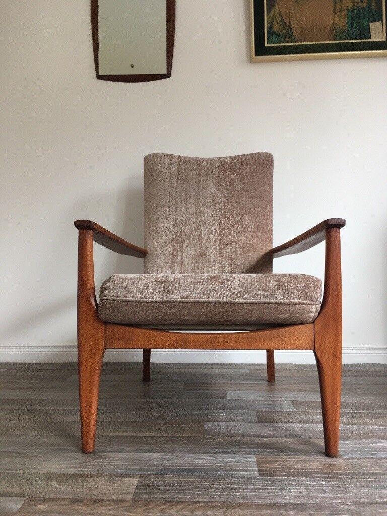 Vintage Retro Mid Century Parker Knoll 988 Lounge Chair