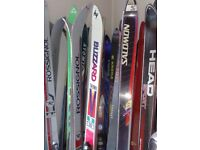 SKIS CARVER - MAKES SALOMON - HEAD - 1m70 - 1m75 - 1m80 - FIBERGLASS - MADE IN AUSTRIA -