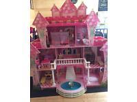 Girls Princess Dolls House