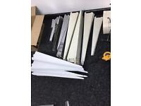 Tegometall shelf brackets x 60 for shop shelving