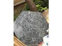 Hexagon Granite Table top/Slab