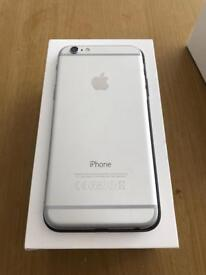 iPhone 6 64gb Space grey and silver Unlocked like new condition