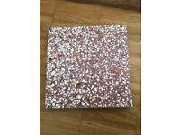 Red/White/Grey Terrazo Tiles