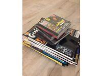 11 x guitar magazines & 9 accompany cd's 97-99