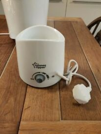 Tommee Tippee baby bottle warmer excellent condition barely used