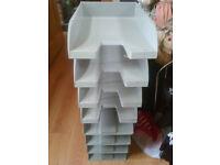 desk organiser tray/letter tray