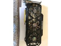 Gigabyte GeForce GTX 780Ti WindForce 3x OC 3072MB brand new sealed