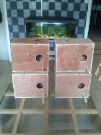 budgie nest boxs