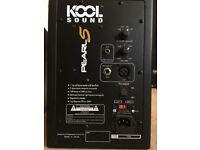 Kool Sound Pearl 5 monitor speakers - great studio monitors