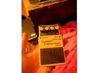 Boss DS2 Turbo Distortion.