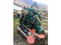 Volvo penta boat engine, 25hp
