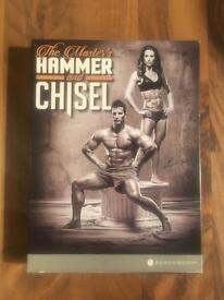 Beachbody the masters hammer and chisel DVD fitness set from the makers of piyo and T25