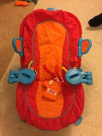 Sensory stages fisher price bouncer