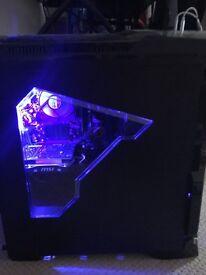NEW GAMING PC WITH WINDOWS 10 (SPECS IN DESCRIPTION) ORIGINAL PRICE - £570