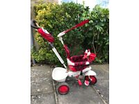 Toddler Trike with parent push handle