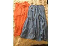 Summer beach skirts