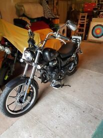 Lexmoto Michigan 125cc, one owner from new, mamufacturers warranty & full service history