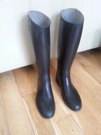 Cadett Rubber riding boots size 2