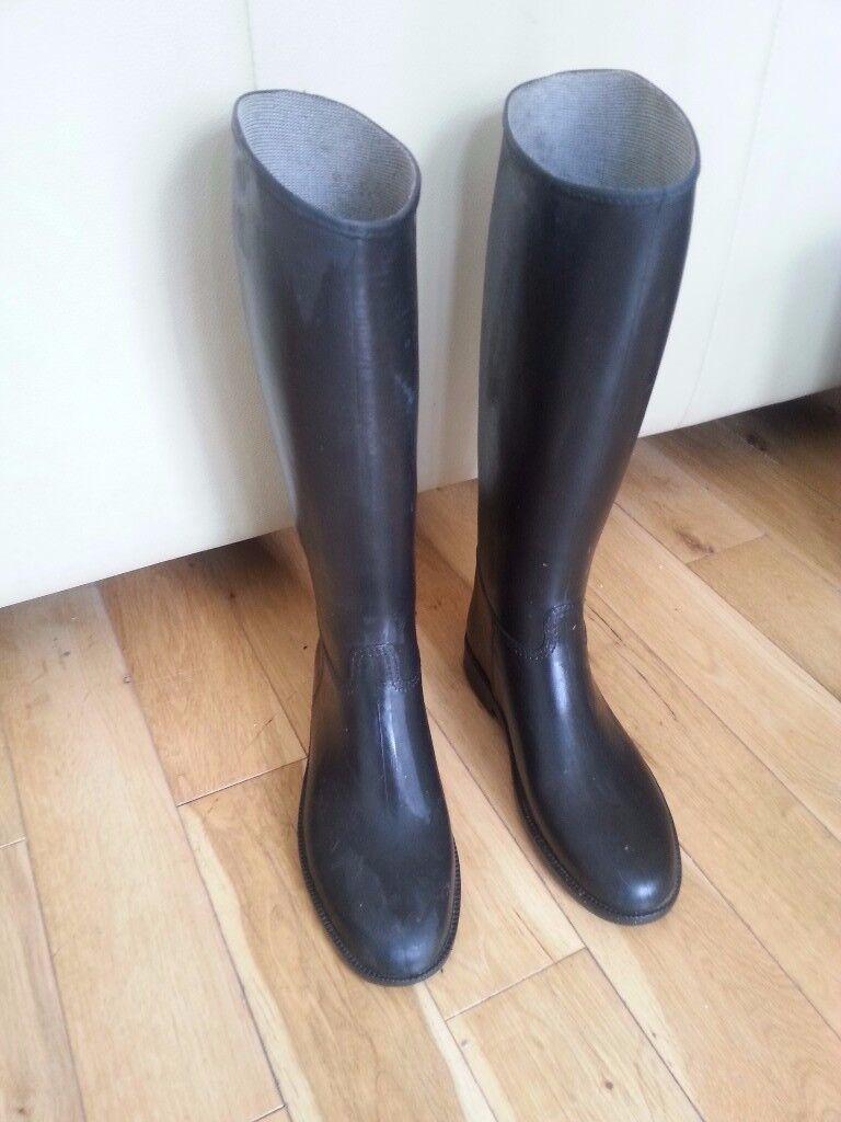 Cadett Rubber riding boots size 2