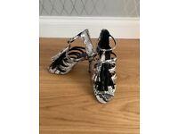 BRAND NEW Snake Skin Heels