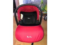 Silver cross simplicity car seat (red)