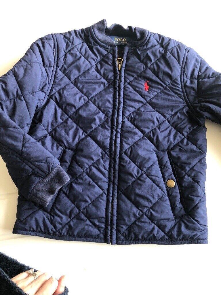 c2d038c235e2 Boys genuine ralph lauren wuilted jacket age 4