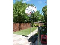 Fully Adjustable Outdoor Basketball Hoop