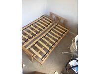 Double Futon - Kyoto Jasmin 3-person sofa / double bed