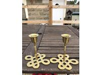 2 candle holder