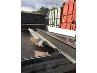 Large steel rsj beams 3.6m long