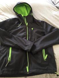 Superdry windtrekker jacket. Size Large