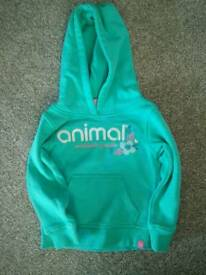 Girls Animal Hoody
