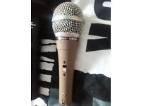 Philips SBC 3036 Dynamic Microphone Mic Live Music Original Vintage RARE studio