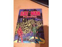 Batman pocket book No 3 1979