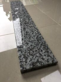 GRANITE WINDOW SILL, BACKSPLASH 137cm x 15cm x 2cm 3 SIDE POLISHED