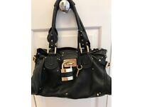 Genuine Chloe Paddington Black leather handbag