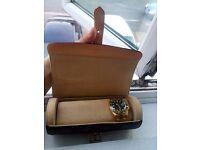 Genuine Louis Vuitton ( Watch 3 Watch Case ) Unused