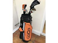 Junior Dunlop golf set approx 7-12 depending on height of child
