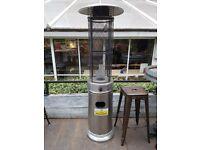Gas heater for garden patio