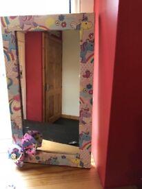 Kids handmade mirrors (new)