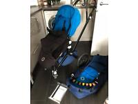 Bugaboo Cameleon 2 w/ Carrycot, Footmuff, Raincover and accessories!